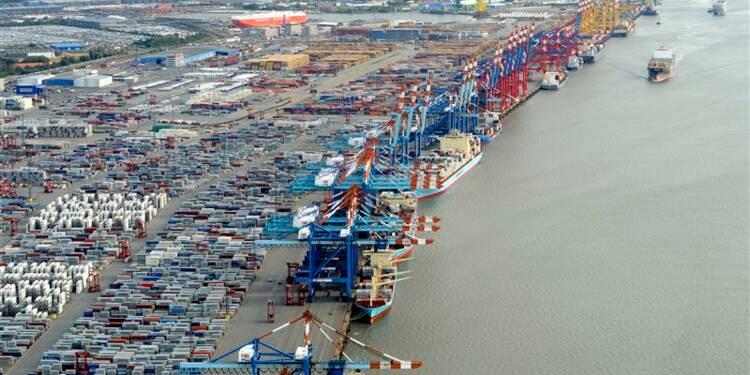 Baisse inattendue des exportations en décembre en Allemagne