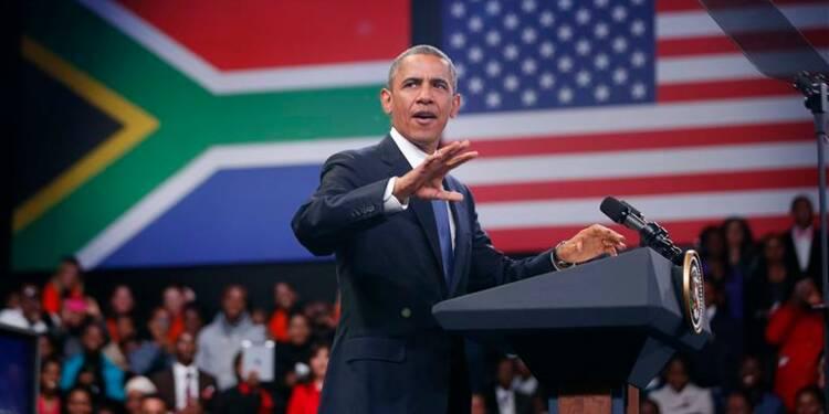 Barack Obama rencontre les proches de Mandela, heurts à Soweto