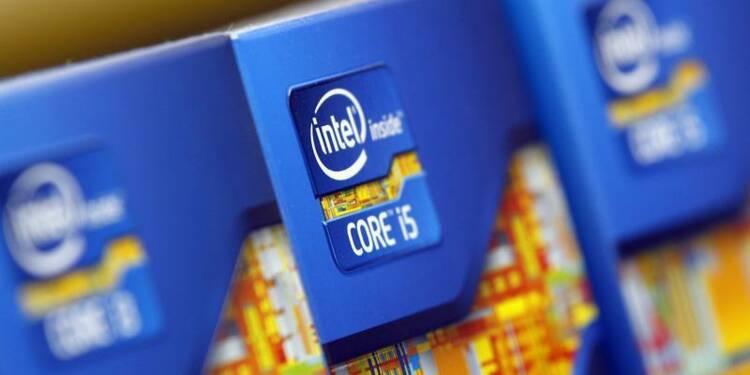 Trimestriels en hausse mais sous le consensus pour Intel
