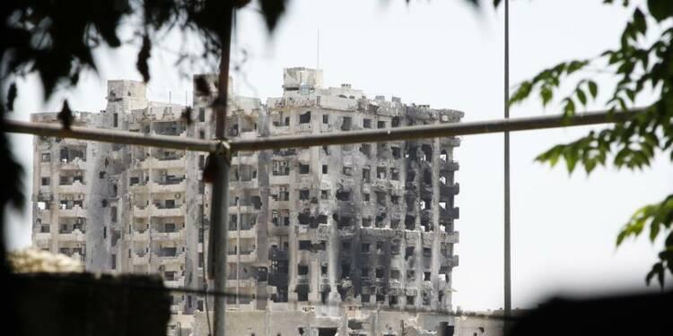 Mise en garde russe sur la Syrie, Damas bombardée