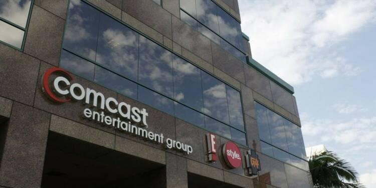 Comcast présente chiffre d'affaires et bénéfices en hausse