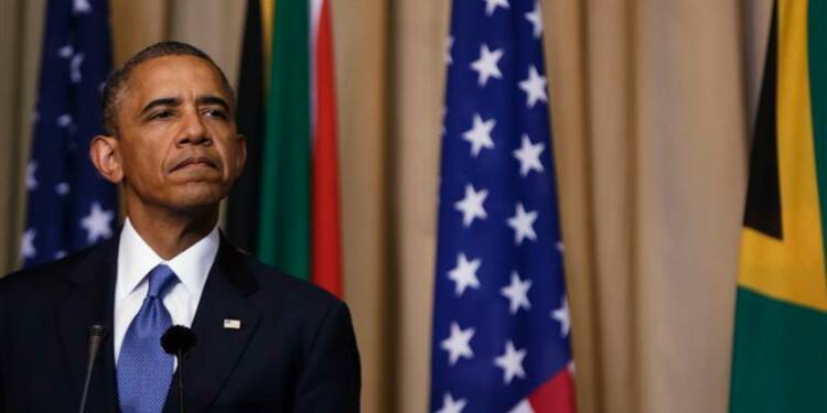 Barack Obama n'ira pas voir Nelson Mandela à l'hôpital