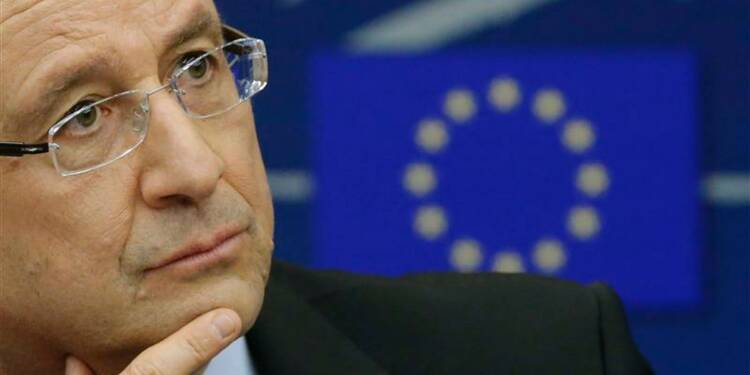 Hollande veut limiter les fluctuations irrationnelles de l'euro