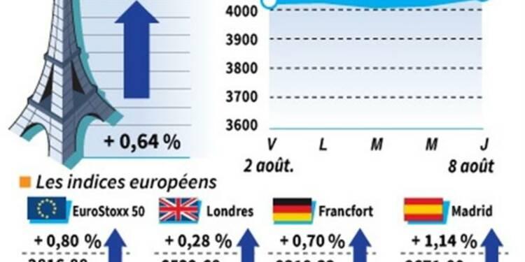 Les principales Bourses européennes terminent en hausse