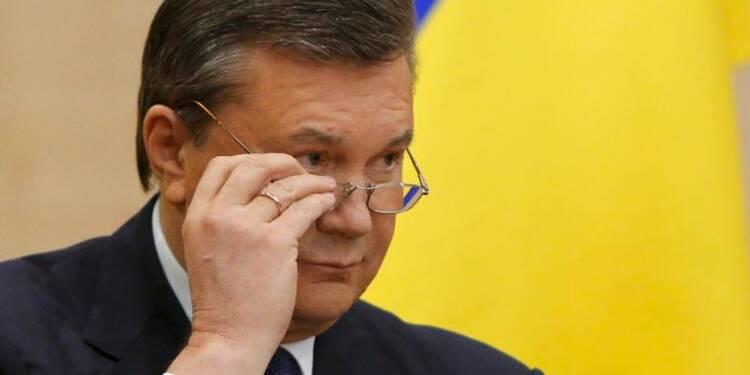 L'UE gèle les avoirs de l'ex-président ukrainien Ianoukovitch