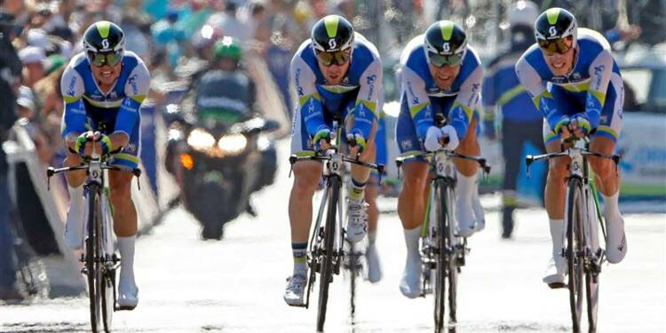 Tour de France: le contre-la-montre à Orica-Greenedge