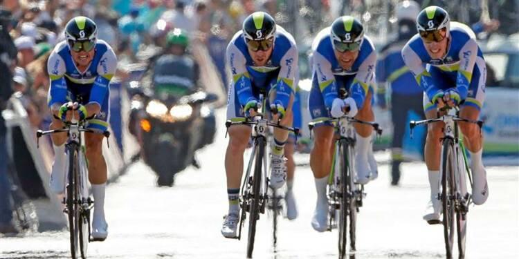 Tour de France: le contre-la-montre à Orica-Greenedge