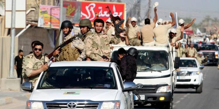 L'armée irakienne lance une opération sur Tikrit