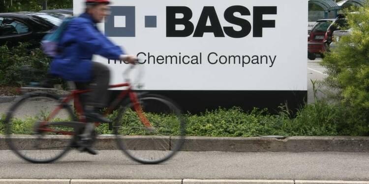 Baisse du résultat de BASF en raison d'effets de change