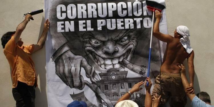 Corruption: l'Espagne plonge, la France stable, pour Transparency