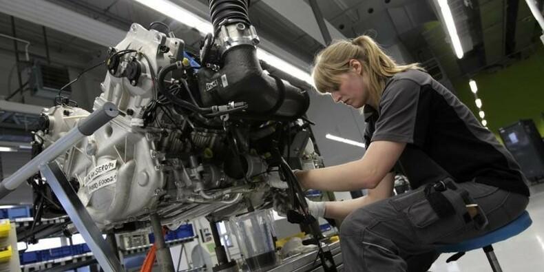 Repli en Europe de la croissance dans l'industrie