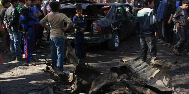 Attentats à la voiture piégée à Bagdad, 28 morts