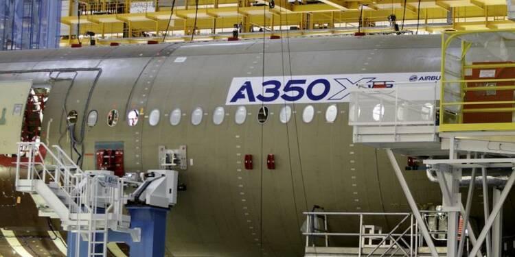Le loueur ALC passe une commande de 25 A350