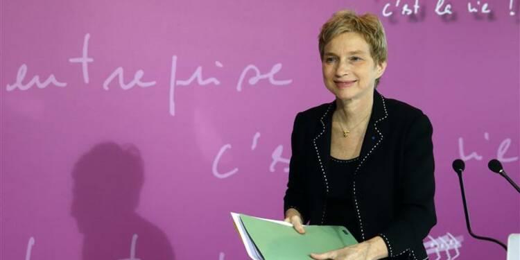 Laurence Parisot fustige les pistes de réforme des retraites