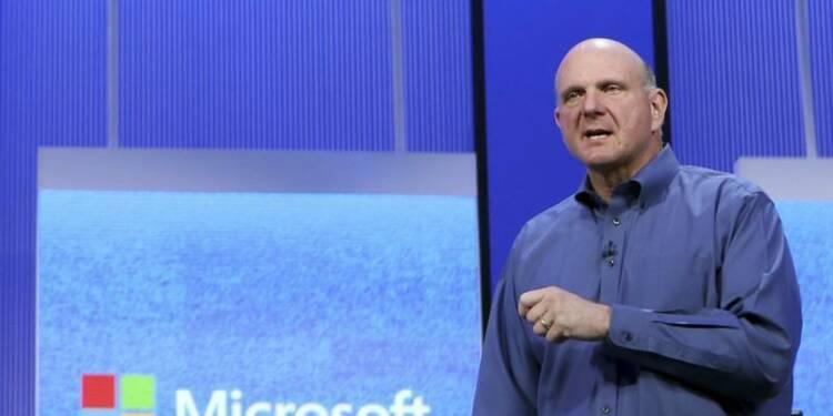 Microsoft a huit candidats pour succéder à Steve Ballmer