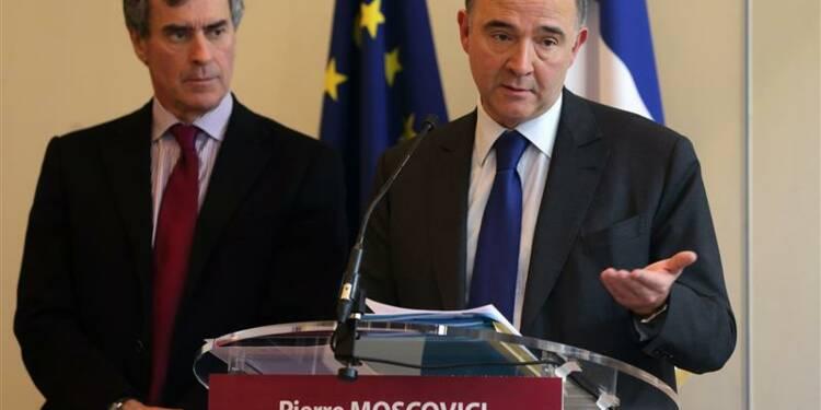Le gouvernement réduira le déficit à 3% en 2014, dit Moscovici