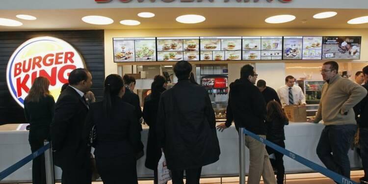 Burger King grimpe en Bourse après ses résultats du 3e trimestre