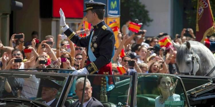 Felipe intronisé roi d'Espagne, sans faste