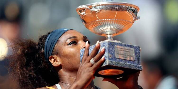 Tennis: Serena Williams remporte le tournoi de Rome