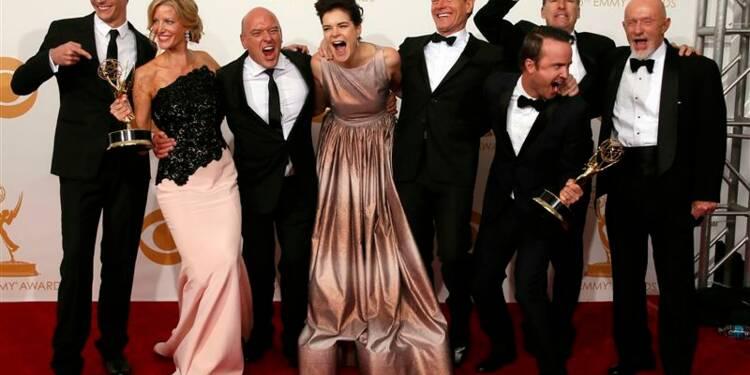 "La série ""Breaking Bad"" décroche enfin l'Emmy Award"