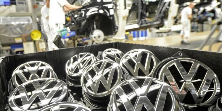 VW confirme ses objectifs 2013 malgré un 1er semestre en retrait