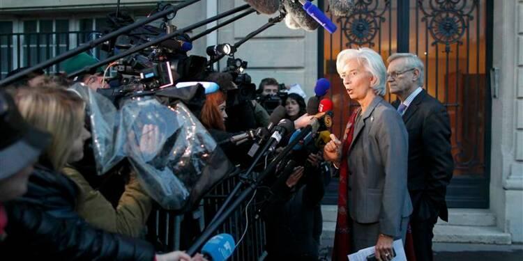 Deuxième journée d'audition pour Lagarde devant la CJR
