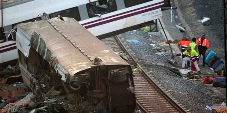 Un nouveau bilan de 77 morts dans le déraillement en Espagne