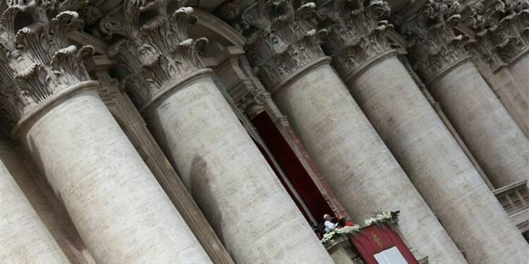 """Première bénédiction solennelle """"Urbi et Orbi"""" du pape François"""