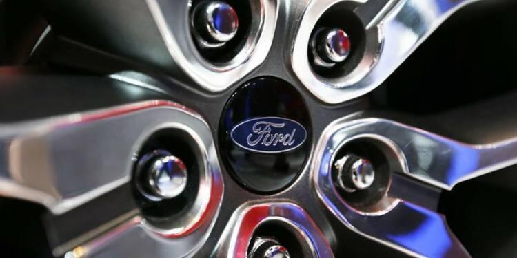 Ford prévoit un bénéfice en baisse en 2014