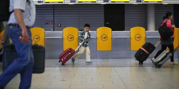 Vols Lufthansa annulés ce week-end à Roissy à cause d'une grève