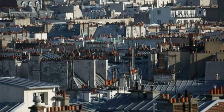 Chute des crédits immobiliers en janvier en France