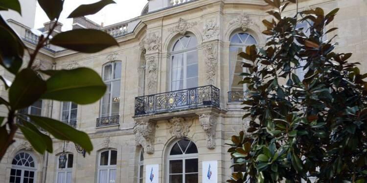 Matignon transformé en centre aéré pour la rentrée d'Ayrault