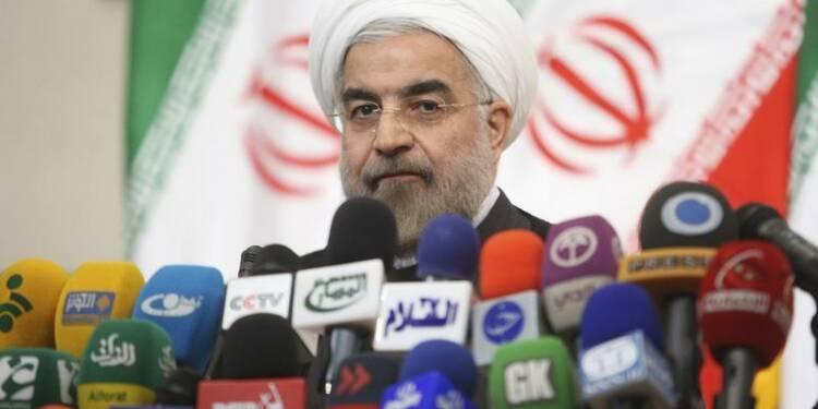 Le nouveau président iranien Hassan Rohani a prêté serment