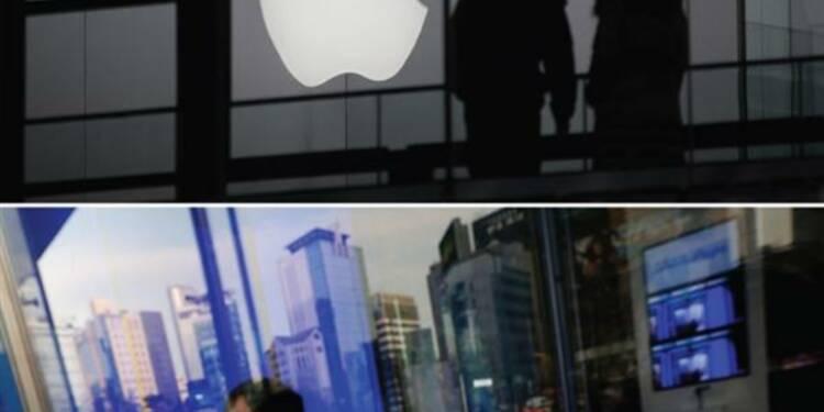 Apple et Samsung vont tenter une médiation sur les brevets