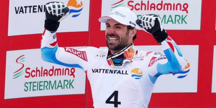 Ski: Ligety champion du monde du Super-G, De Tessières en argent