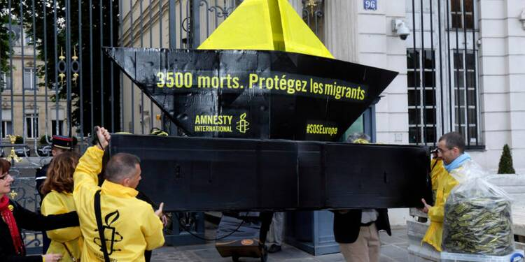 Amnesty interpelle la France sur sa politique migratoire