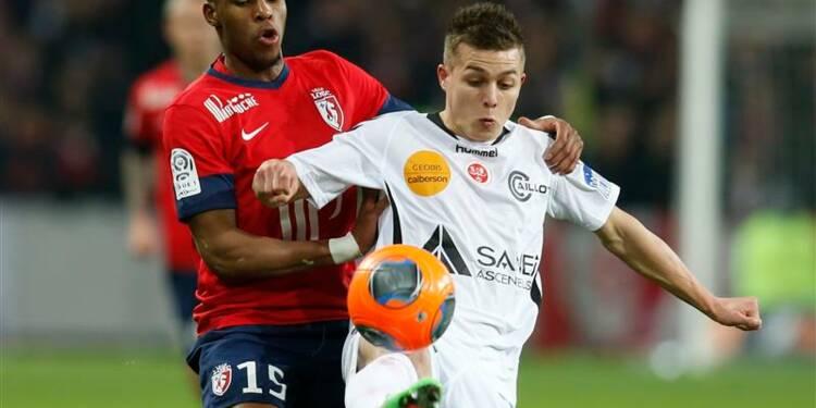 Ligue 1: Lille laisse Monaco à sa place