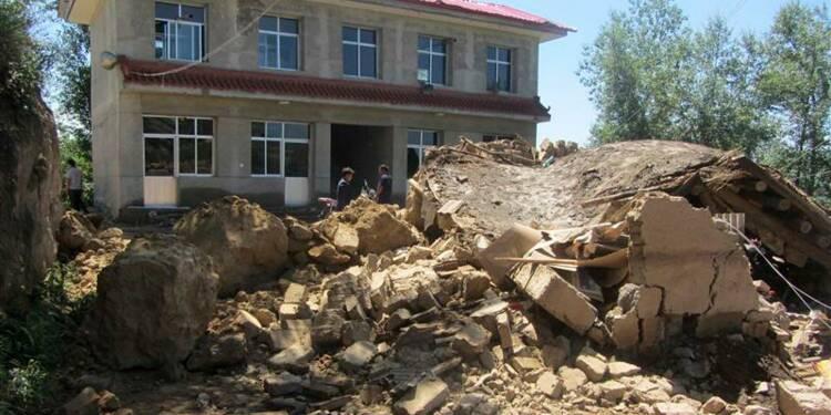 Un séisme fait 54 morts dans la province de Gansu en Chine