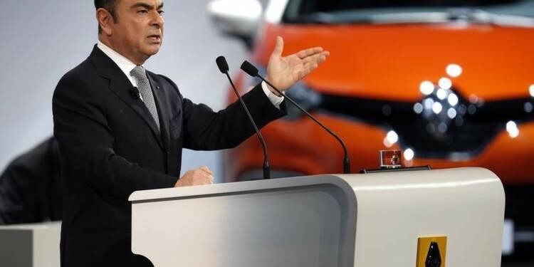 Le PDG de Renault Carlos Ghosn renouvelé pour un mandat de 4 ans