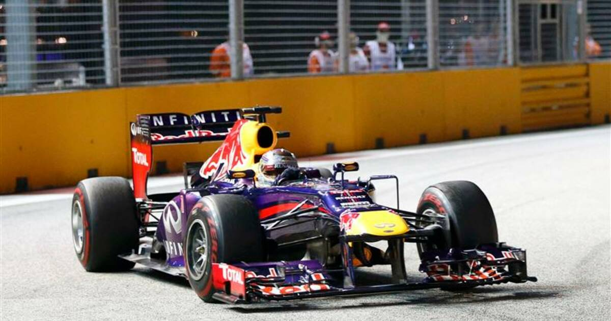 f1 sebastian vettel remporte le gp de singapour. Black Bedroom Furniture Sets. Home Design Ideas