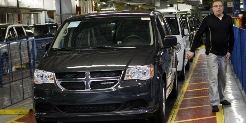 Chrysler rappelle 700.000 voitures de plus pour défaut d'allumage