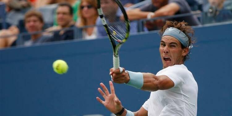 US Open: Rafael Nadal passe le premier obstacle