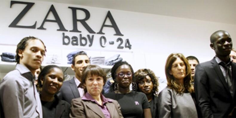 Zara intègre des jeunes en grande difficulté
