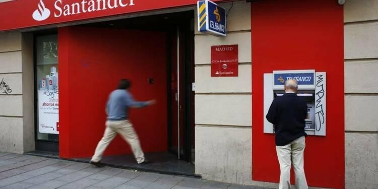 Santander affiche un bénéfice en hausse de +8% au 1er trimestre