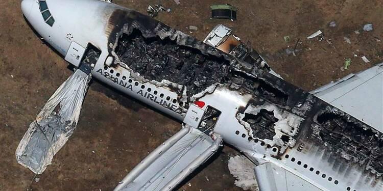 Crash d'un Boeing 777 d'Asiana à San Francisco, deux morts