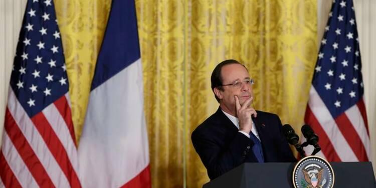 """Hollande, VRP de la """"start-up République"""" à San Francisco"""