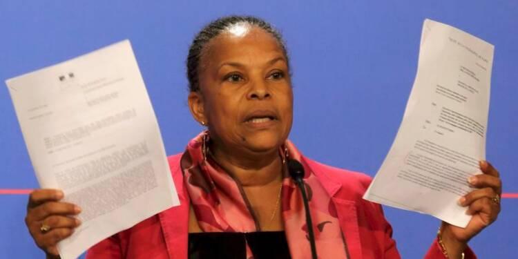 Christiane Taubira ne démissionnera pas suite aux écoutes