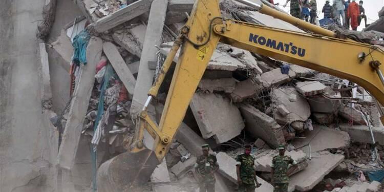Arrestations au Bangladesh après l'effondrement d'un immeuble
