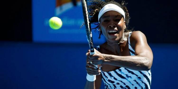 Open d'Australie: Venus Williams éliminée dès le 1er tour