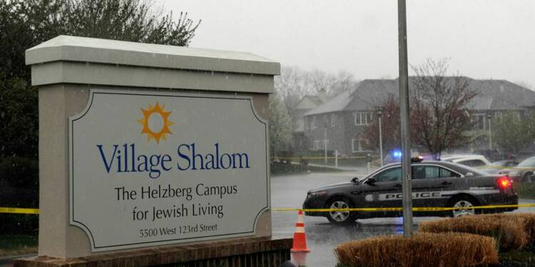 Trois personnes tuées dans deux centres juifs du Kansas